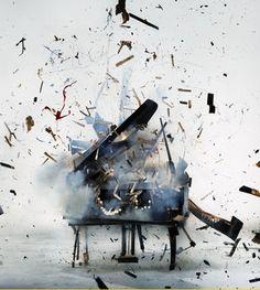 Blown Up Piano. Jamie Cullum Promo - Marmalade World