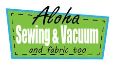 Aloha Sewing & Vacuum, Fabric & Air Purifiers|Portland Metro Area  I needed bobbins for my sewing machine. I was surprised by the fabric, tools, and kits sold in this little shop. The building is bright green! You can miss it!