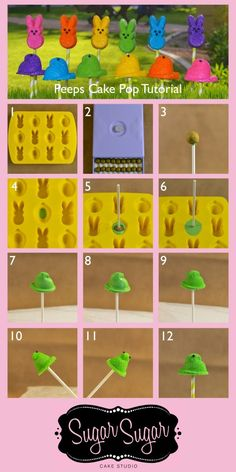 Peeps Cake Pop Tutorial