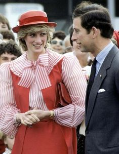 The Prince and Princess of Wales' - Charles and Diana - 1983 tour of Australia and New Zealand