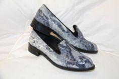 Jules   Jenn - Les Slippers cuir python • www.julesjenn.com Maroquinerie, 38a9456f8591