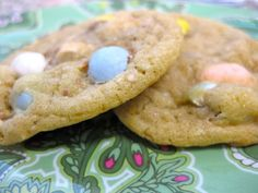 yup, these are definate!!! Cadbury Mini Egg cookies!!!!
