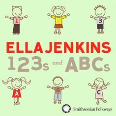 ELLA JENKINS TO RELEASE 123S AND ABCS THROUGH SMITHSONIAN FOLKWAYS...