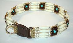 Hopi Beaded Dog Collar