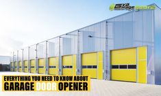 Garage doors are no more than the typical roll-top ones, which need to be pushed up by hand. At present, garage door openers are available with different accessories to make opening easier. Irrespective of how heavy the door, it can be fitted with the right type of opener. Garage Door Opener, Garage Doors, Garage Door Company, The Doors, Need To Know, Everything, Type, Accessories, Carriage Doors