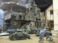 Dannage's 40K Scale Imperial Guard Leviathan - Page 9