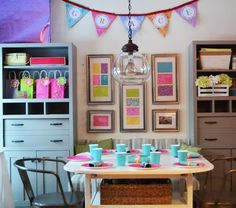 Grace's Arts and Crafts DIY Birthday Party | Ana White