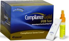 Compliance Gold (iFOB) Fecal Occult Blood Test 30 Tests/Kit