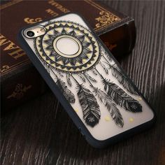 39e576c2f3 Unique Dream Cather Case for iPhone Mobile Covers, Iphone 7, Iphone Cases,  Flower