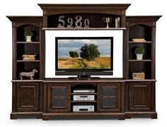 #BuyOnlineASF Signature Furniture - Berkshire Entertainment Wall Units Collection-4 Pc. Entertainment Wall Unit $1,699.99
