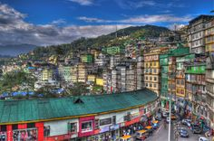 Gangtok, Sikkim. Explore Eastern India with us! http://www.kennethphotography.com/india