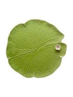 Mostrar detalles para Hoja con Flor 32 Verde/Blanco