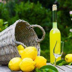 Limoncello is an Italian lemon liqueur mainly produced in Southern Italy. Limoncello is traditionally served chilled as an after-dinner digestive. Lemony Lemon, Lemon Lime, Lemon Joy, Villa Mallorca, Capri Italia, Lemon Liqueur, Homemade Limoncello, Almond Cakes, Gastronomia