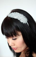 Glitter Feather Goddess Headband Bandeau De Plumes, Paillettes, Cheveux, Chapeau, Idées De Coiffures, Bijoux, Modifier, Accessoires, Bandeaux Personnalisés