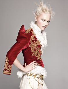 Did you wear red velvet for the holidays?