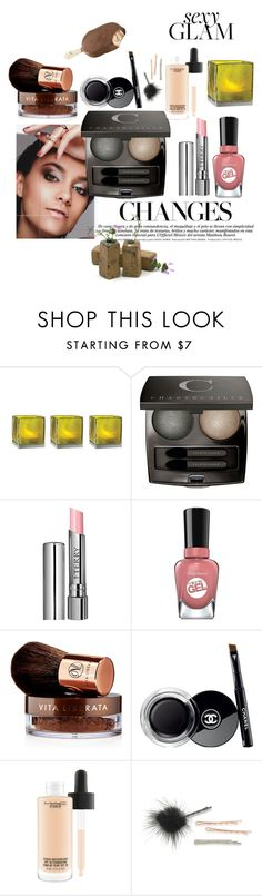 """""""healthy clear glam"""" by owen-996 ❤ liked on Polyvore featuring beauty, Cultural Intrigue, Chantecaille, By Terry, Sally Hansen, Vita Liberata, Chanel, MAC Cosmetics and ABS by Allen Schwartz"""