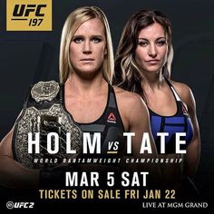 Holly Holm vs Miesha Tate fight promo : if you love you'll love the Kickboxing, Muay Thai, Ufc 196, Cat Zingano, Holly Holm, Mma Clothing, Miesha Tate, Mma Workout, Love Fight