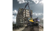 Latest generation of Volvo high reach excavators optimized for heavier attachments with attachment management system for up to 20 different hydraulic attachments