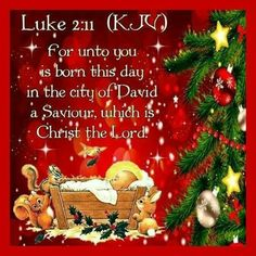 A CHRISTMAS BLESSING: Luke 2:11 (1611 KJV !!!!)