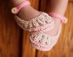 Crochet Baby Booties Pattern Molly Summer Slippers