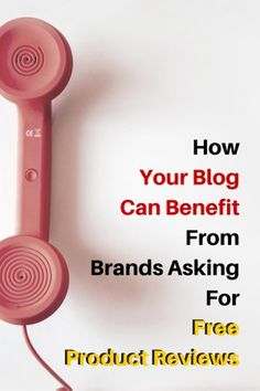 Here's how you negotiate with brands and possi ly make moneh out of that negotiation. How Your Blog Can Benefit From Brands Asking For Free Product Reviews 2 - KOL Blogging #blog #blogging