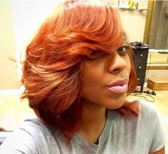 Auburn colored Bob......can you rock it??