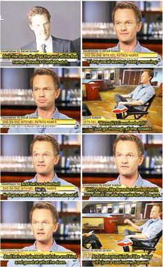 Neil Patrick Harris on Benedict Cumberbatch