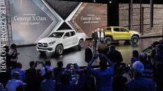 Mercedes-Benz Classe X: Svelato A Stoccolma Il Pick-Up Della Stella