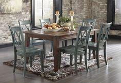Mestler Dining Set - Furniture Superstore