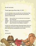 Western-Theme Letter for Teacher Appreciation