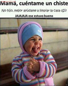El chiste de la semana :) Imagenes de risa 2016 Mega Memeces Mas en Iž¨ www. Spanish Jokes, Funny Spanish Memes, Stupid Memes, Funny Jokes, Hilarious, Funny Images, Funny Photos, Mexican Problems, Funny Phrases