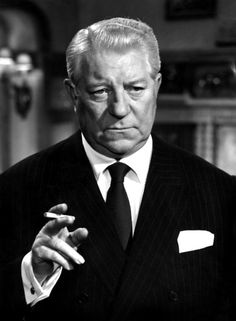 Jean Gabin, time is coming fast! Hollywood Stars, Old Hollywood, Star Francaise, Jean Gabin, Fritz Lang, Delon, French Movies, Deneuve, Hero Movie