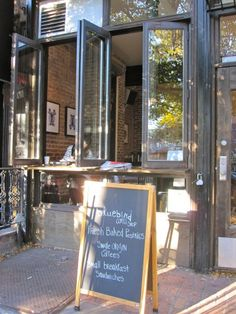 Bluebird Cafe, 72 E 1st.  [Best coffee in town. Great to hang outdoor by the window bar.]