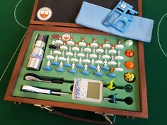 Pro Subbuteo Kit - Ready for action on the pitch
