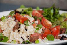 Resterisotto   chezENGH Risotto, Cobb Salad, Grains, Rice, Food, Meals, Laughter, Jim Rice, Korn
