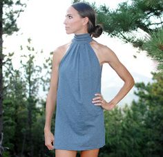 Another spin on the good old tshirt dress. Something you can rely on to keep you cool and chic during these HOT summer months.    ...