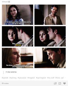 #Supernatural I loved Meg and Cas together .. Misha Collins