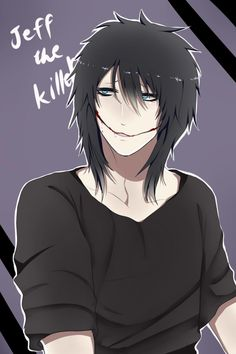 Jeff The Killer // is it bad I find this cute //
