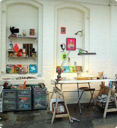 lisa congdon art studio.