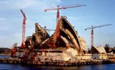 Things to Do and See in Sydney Australia Jorn Utzon, Australian Ballet, Space Frame, Building Structure, Famous Landmarks, Concert Hall, Historical Pictures, Under Construction, World Heritage Sites