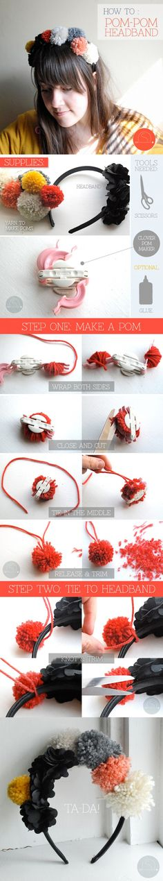 15 Pretty DIY Headband Tutorials - Pretty Designs