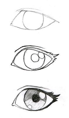 Anime eyes drawing, easy manga drawings, drawings of eyes, easy drawings sketches, Sad Drawings, Art Drawings Sketches Simple, Pencil Drawings, Drawing Faces, Drawing Simple, Easy Manga Drawings, Pencil Sketching, Naruto Drawings, Realistic Drawings