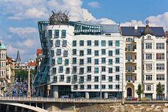 Nationale-Nederlanden Building (Dancing House - Tančící dům), Prague, Czech Republic - Frank Owen Gehry