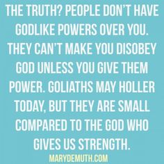 Who is Your Goliath? | Mary DeMuth