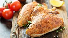 Learn how to smoke chicken breast with this simple recipe. Juicy chicken breast using wood or electric smoker. Make the best marinade and rub. Smoked Chicken Breast Recipe, The Best, Easy Meals, Turkey, Meat, How To Make, Recipes, Carne, Food
