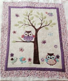 Baby Owl Quilt Etsy Little Owls Baby Quilt Pattern You Had Us At Baby Owls Check Out This Adorable Baby Owl Applique Baby Quilt Pattern Owl Baby Quilts, Baby Patchwork Quilt, Baby Owls, Rag Quilt, Applique Quilts, Owl Applique, Baby Quilt Patterns, Owl Patterns, Small Quilts