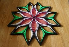 Origin Sx String art sacred geometry psychedelic wall