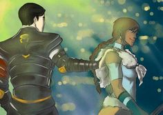 Korra with long hair XD and Mako being the chief of police XD Avatar Show, The Last Avatar, Avatar The Last Airbender Art, Team Avatar, Avatar Couple, Avatar Picture, Cartoon Video Games, Avatar World, Cartoon Ships