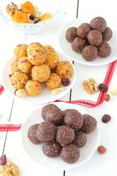 Energy Balls Dates Healthy Summer Recipes, Super Healthy Recipes, Healthy Treats, Raw Food Recipes, Sweet Recipes, Datte Fruit, Eat For Energy, Snacks Sains, Protein Bites