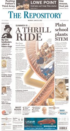 June 25, 2012. The Repository from Canton, Ohio.